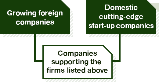 Main target of business